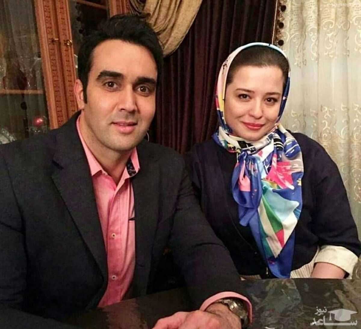 ماجرای جنجالی ازدواج پوریا پورسرخ و همسرش +فیلم