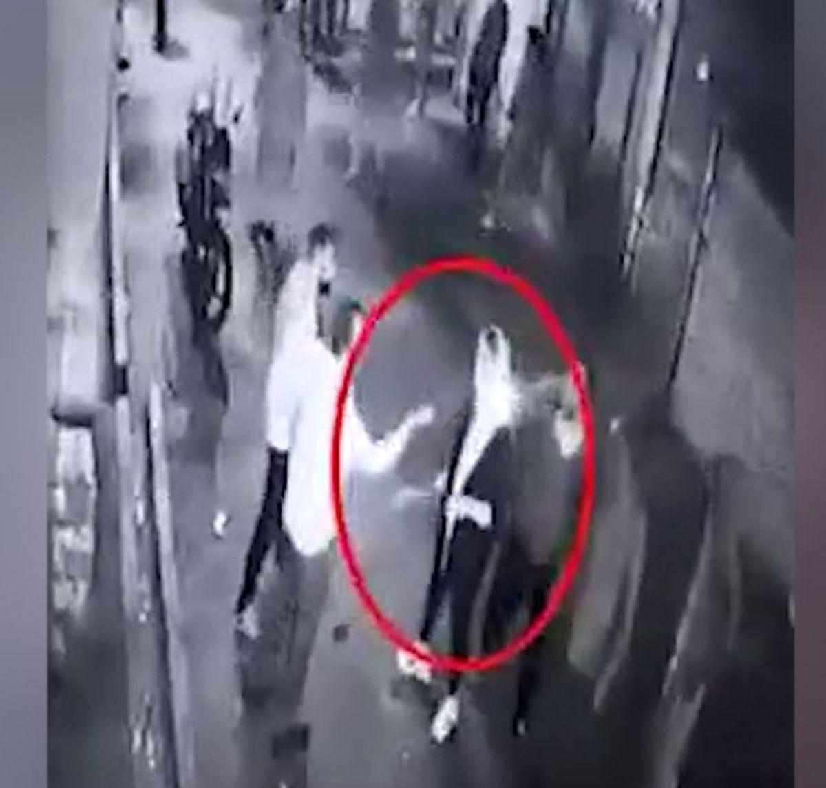 فیلم دیده نشده از قمه کشی زن جوان در خاک سفید تهران