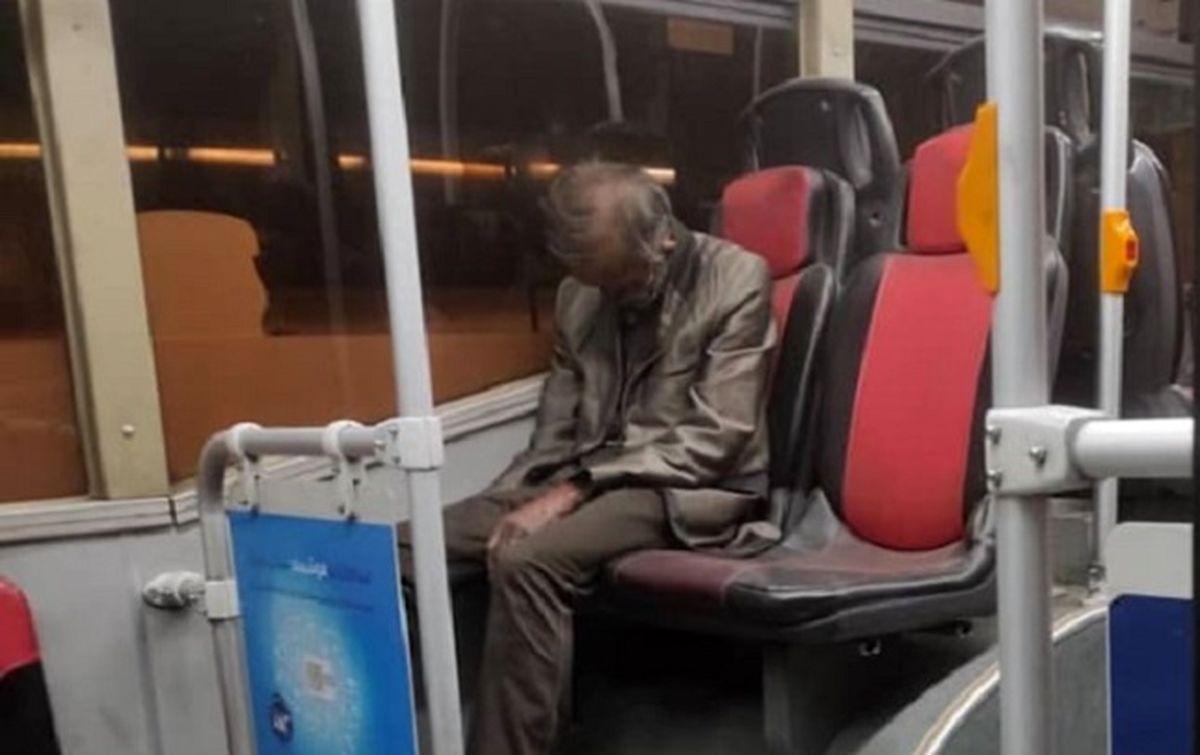 کشف جسد در اتوبوس پایتخت؛ ماجرا چه بود؟!