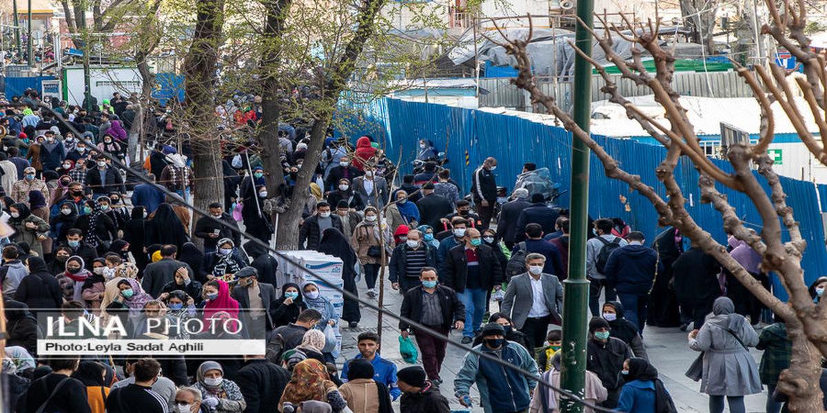 تصاویر| هجوم وحشتناک مردم به بازار بزرگ تهران