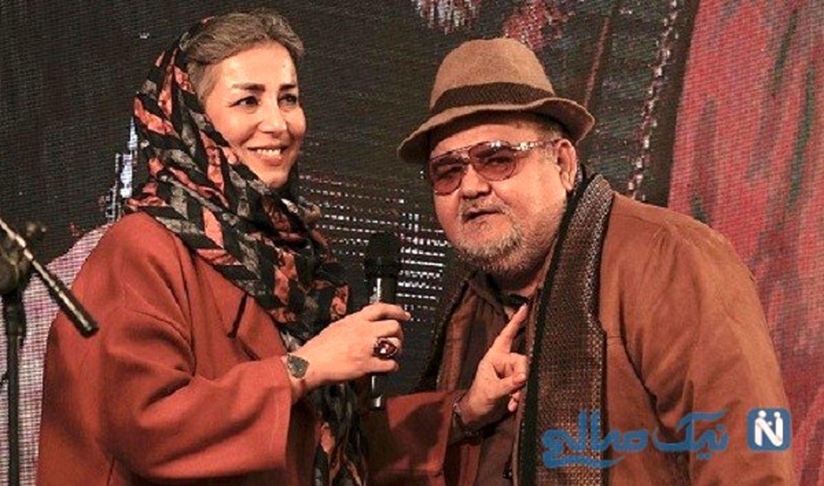 ناگفته های همسر اکبر عبدی از 30 سال زندگی مشترک +مصاحبه و عکس خانواده اکبر عبدی