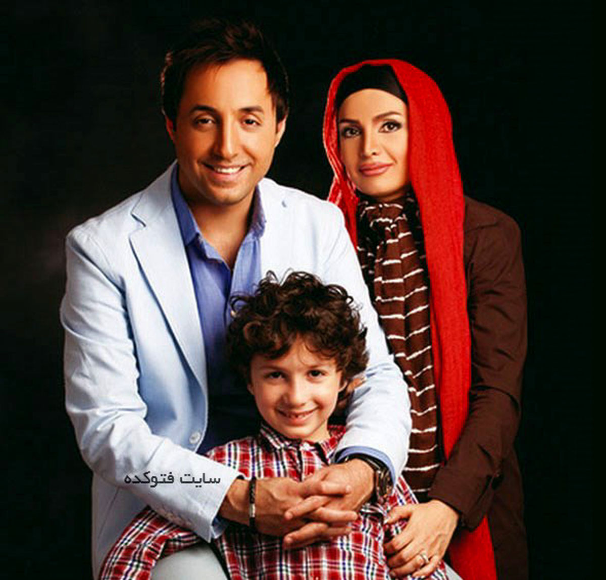 عکس لورفته از ماشین مدل بالای امیرحسین رستمی! +عکس همسر و فرزندش