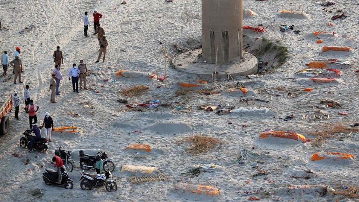 فاجعه جدید در هند؛ پیدا شدن 2 هزار جسد در رودخانهها