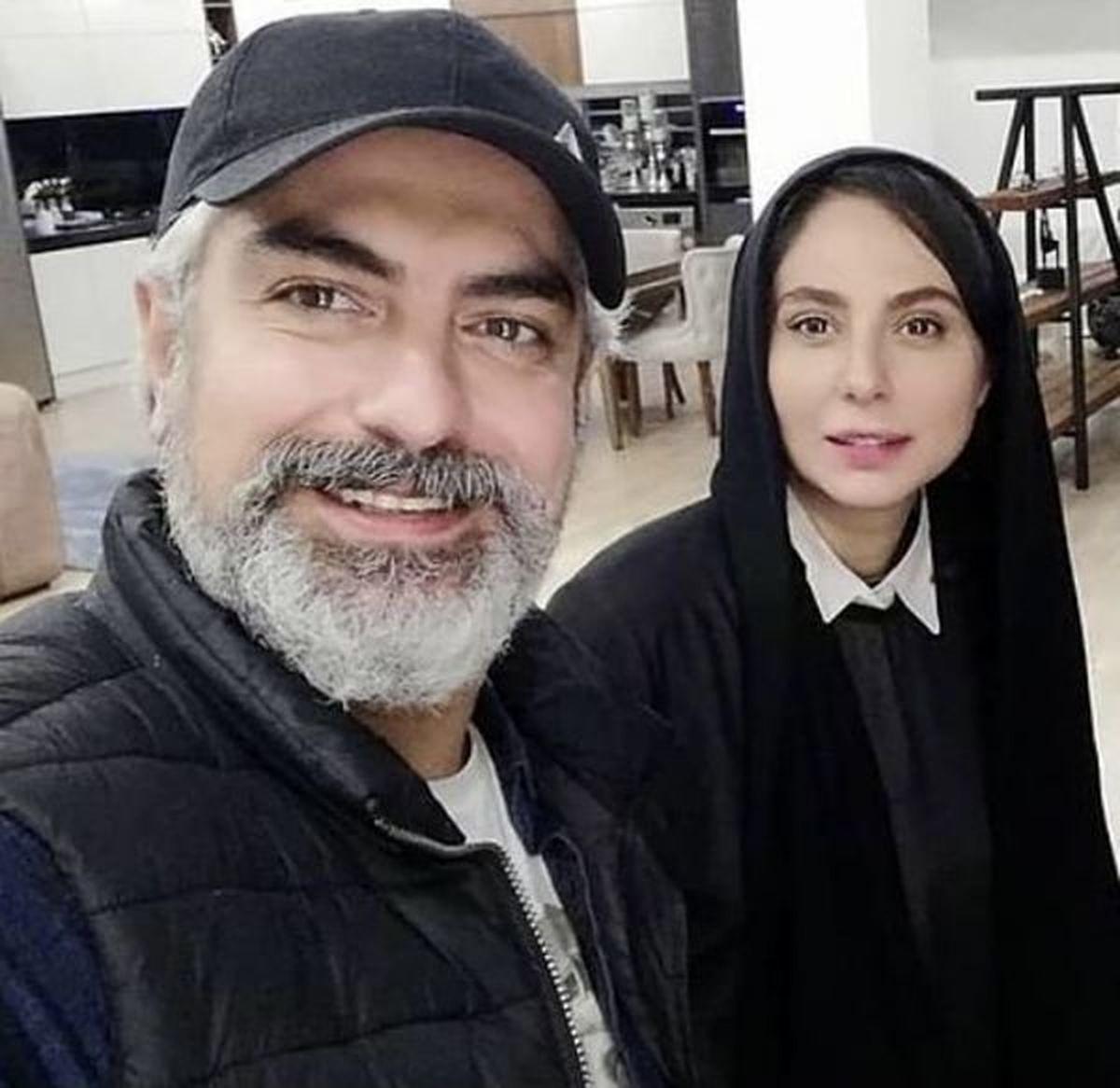مهدی پاکدل| تصاویر و بیوگرافی مهدی پاکدل و همسرش