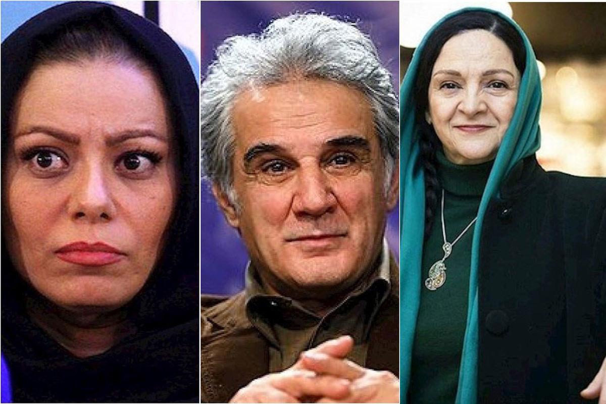 ست لباس عاشقانه مهدی هاشمی و همسر دومش +تصاویر دو نفره