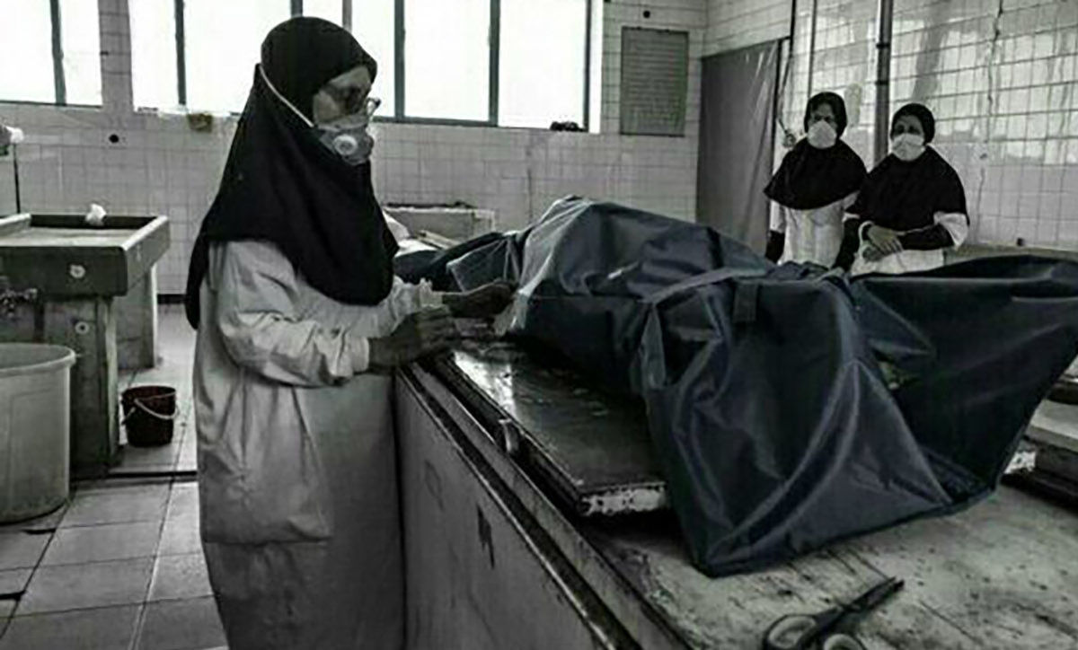 هشدار مرگ؛ 9 عکس ترسناک از تابوت و اجساد کرونایی ایران
