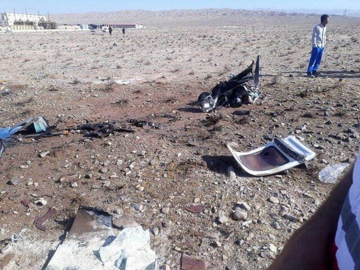 هواپیمای جنگنده روسی در آسمان آتش گرفت / فیلم