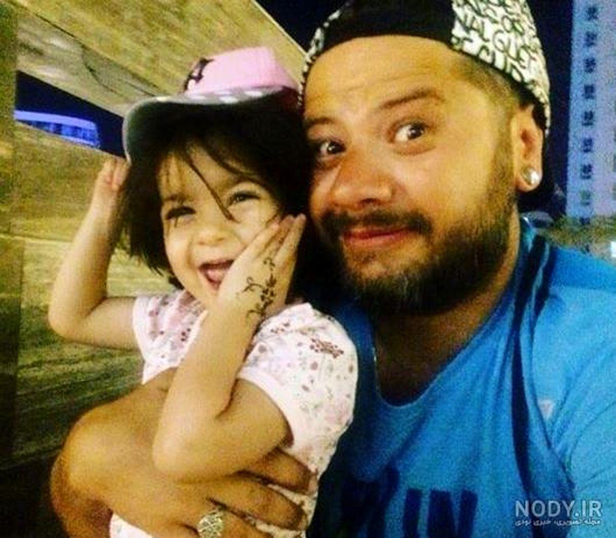 تیپ غربی علی صادقی جنجال به پا کرد! +تصاویر خانوادگی علی صادقی